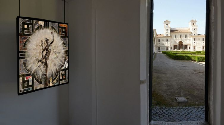 Ileana Florescu. Les Chambres du Jardin. Exhibition view at Villa Medici, Roma 2018. Photo credit Simon d'Exéa
