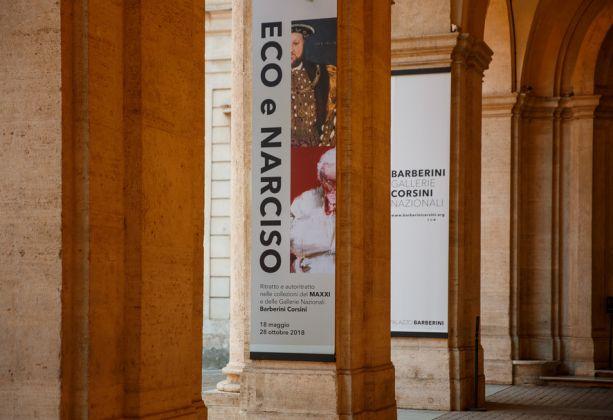 Eco e Narciso. Ritratto e autoritratto nelle collezioni del MAXXI e delle Gallerie Nazionali Barberini Corsini, Ingresso, Foto Alberto Novelli