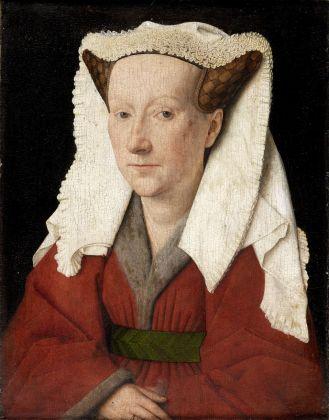 Jan van Eyck, Ritratto di Margherita van Eyck, 1439