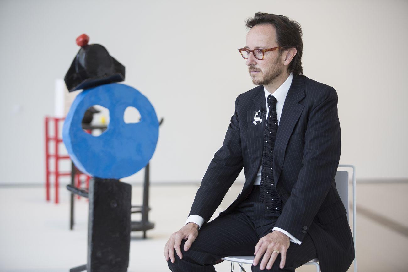 Joan Punyet Miró. Photo Belén de Benito