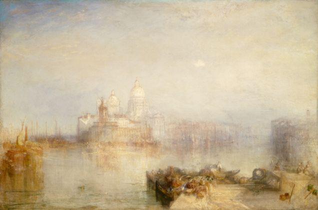 Joseph Mallord William Turner, Venezia, Punta della Dogana e Santa Maria della Salute, 1843. The National Gallery of Art, Washington