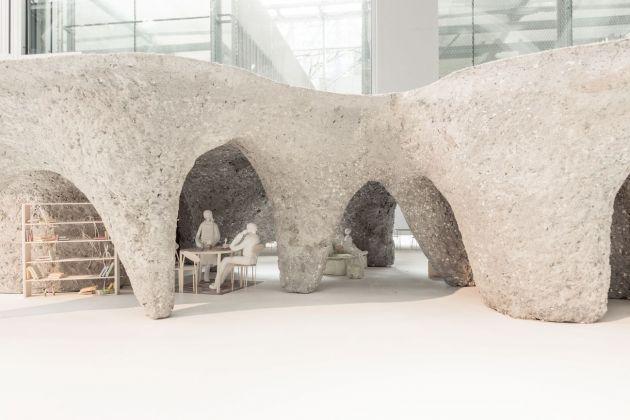 Junya Ishigami. Freeing Architecture. Exhibition view at Fondation Cartier pour l'art contemporain, Parigi 2018. Photo © Giovanni Emilio Galanello
