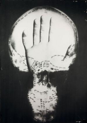 Ketty La Rocca, Craniologia n. 12, 1973 ca. Archivio Ketty La Rocca di Michelangelo Vasta, Firenze
