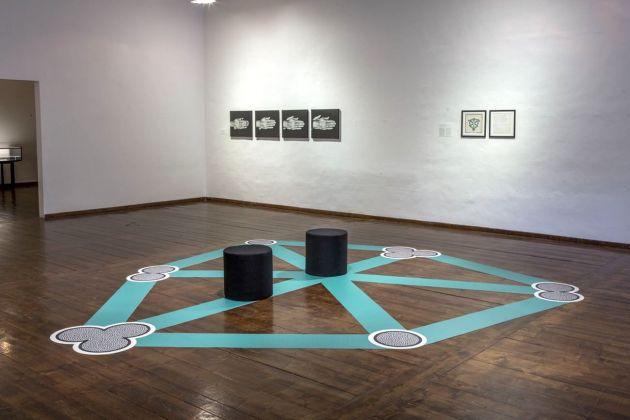 Ketty La Rocca. Gesture, Speech and Word, Exhibition view at Padiglione d'Arte Contemporanea, Ferrara 2018. Photo Marco Caselli