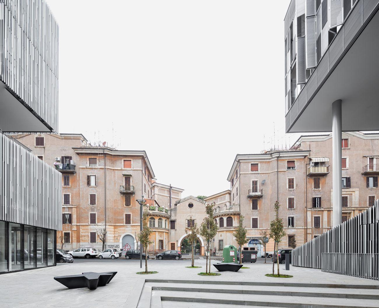 Labics, Città del Sole, Roma, 2007 16. Photo Marco Cappelletti