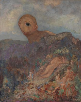 Large KM 103.098 Odilon Redon, Le cyclope (De cycloop The cyclops), circa 1914
