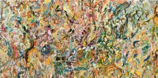 Larry Poons, Duetto, 2007