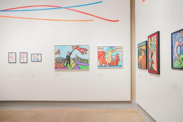 L'arte risveglia l'anima. Exhibition view at Gallerie d'Italia, Milano 2018