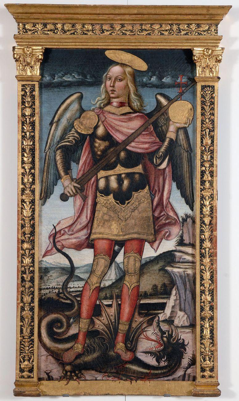 Lattanzio di Niccolò, San Michele Arcangelo, 1523