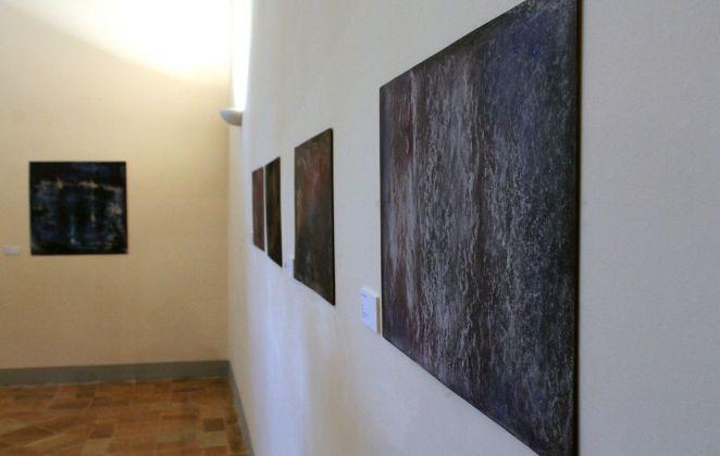 Laura Lambroni, exhibition view at De prospectiva pingendi, Todi 2018, photo Mattia Galantini