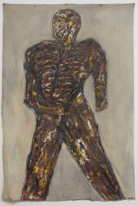 Leon Golub, Warrior, 1963. Courtesy Galleria Massimo Minini, Brescia