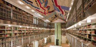 Ignazio Moncada, soffitto della Biblioteca di Palazzo Branciforte, Palermo