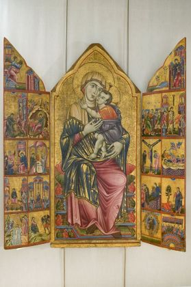 Maestro del Trittico Marzolini, Trittico Marzolini, 1280 ca.