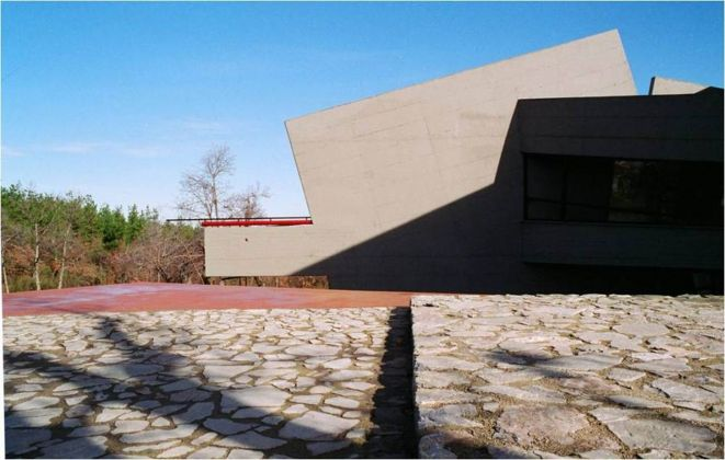 "Marcello Guido, Service Center ""Park Crista"", 1991-93 Acri"