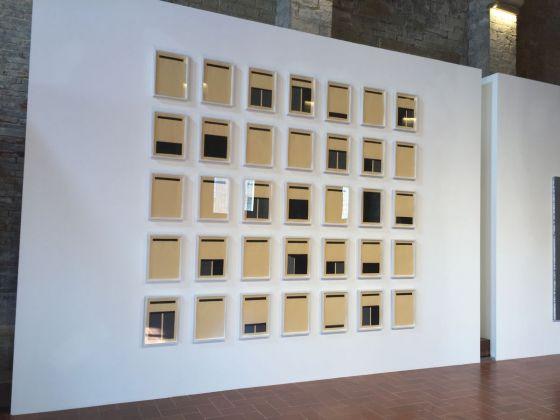 Marco Neri, exhibition view at De prospectiva pingendi, Todi 2018, photo Valentina Grandini