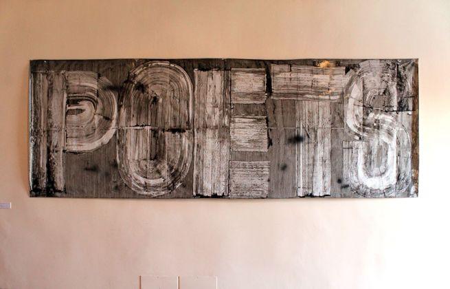 Mario Consiglio, exhibition view at De prospectiva pingendi, Todi 2018, photo Mattia Galantini