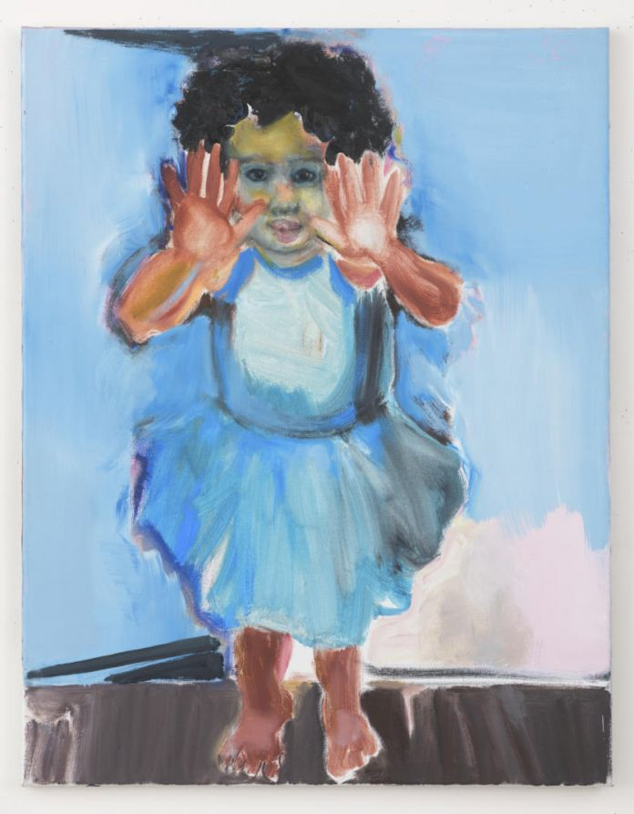 Marlene Dumas, Stop in the Name (of Love), 2007–16. Oil on canvas. 90 x 70 cm. Collection of the artist. © Marlene Dumas. Photo: Peter Cox