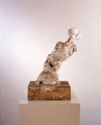 Martin Disler, Figura bianca, 1988. MASI, Lugano. Donazione Giancarlo e Danna Olgiati