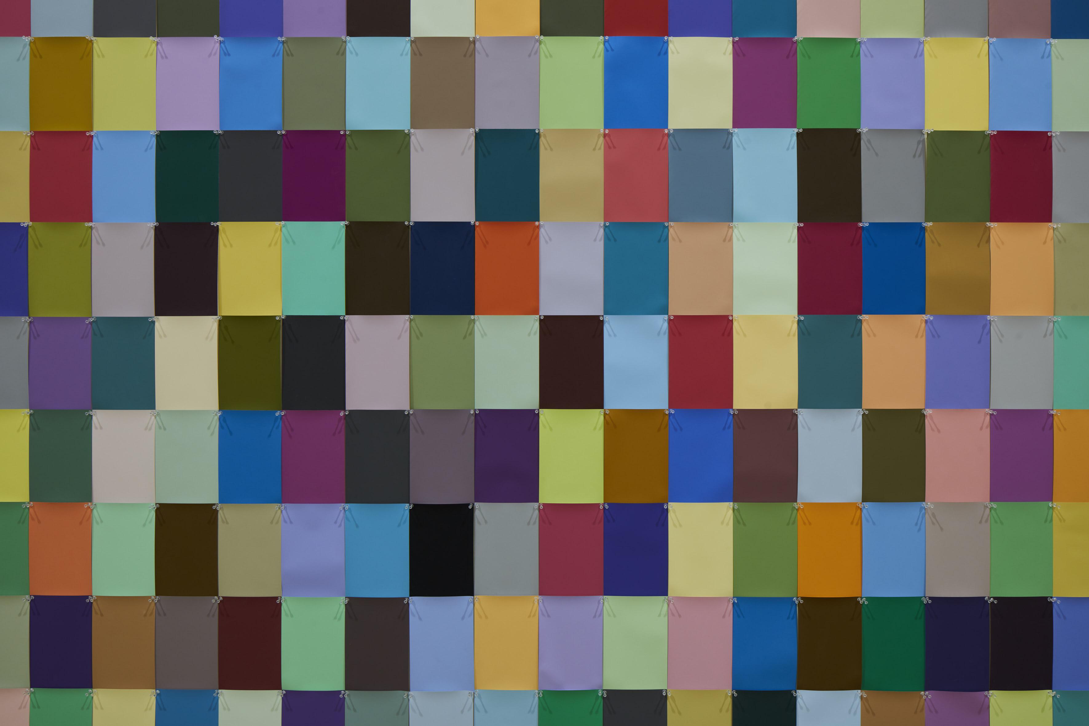 Matt Mullican, Light Patterns, 1972 (particolare). Exhibition copy. Courtesy of the artist e Pirelli HangarBicocca, Milano. Photo Agostino Osio