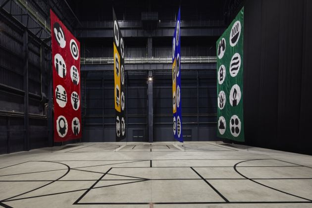 Matt Mullican. The Feeling of Things. Exhibition view at Pirelli HangarBicocca, Milano 2018. Courtesy dell'artista e Pirelli HangarBicocca, Milano