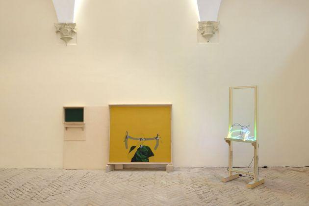 Matteo Fato, (Corna di Bue), 2012-2014. Photo Michele Alberto Sereni. Courtesy l'artista & Galleria Michela Rizzo, Venezia