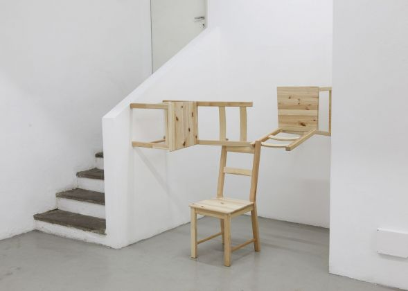 Michael Johansson, Corner piece, 2018. Courtesy The Flat – Massimo Carasi, Milano. Photo credit Michael Johansson