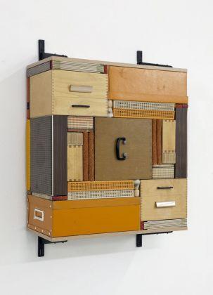 Michael Johansson, Flip Shelf (orange), 2018. Courtesy The Flat – Massimo Carasi, Milano. Photo credit Michael Johansson