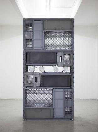 Michael Johansson, Flip shelf – Standing Unit, 2018. Courtesy The Flat – Massimo Carasi, Milano. Photo credit Michael Johansson