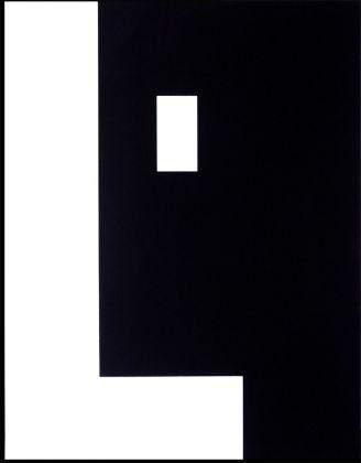 Mirella Bentivoglio, L'assente, positivo negativo segno figura, 1967