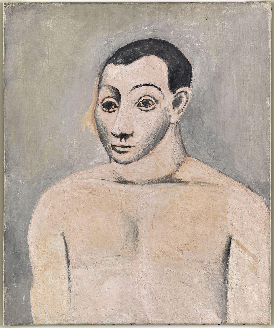 Pablo Picasso, Autoportrait, autunno 1906. Musée National Picasso Paris, Parigi © Succession Picasso, by SIAE 2017