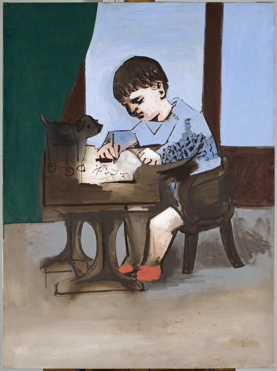 Pablo Picasso, Paul dessinant, 1923. Musée National Picasso Paris, Parigi © Succession Picasso, by SIAE 2017