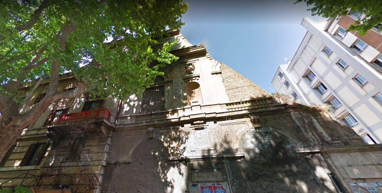 Palazzo Merulana, Roma. Com'era