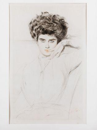 Paul César Helleu, Signora, 1898 ca. Milano, Galleria d'Arte Moderna, Collezione Grassi © Gallerie d'Arte Moderna, foto Umberto Armiraglio