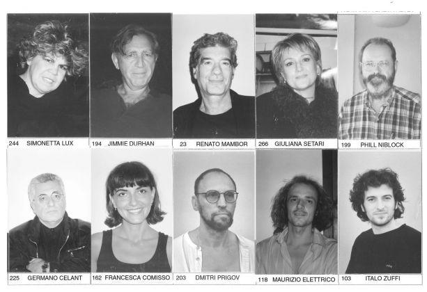 Pino Boresta, Album di Oreste Uno, 1999
