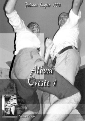 Pino Boresta, Album di Oreste Uno, 1999. Copertina