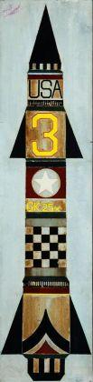 Pino Pascali, Missile, 1964. Collezione Fondazione Pino Pascali