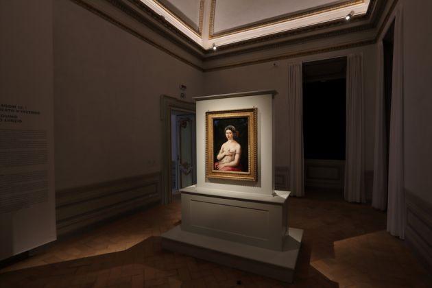 Eco e Narciso. Ritratto e autoritratto nelle collezioni del MAXXI e delle Gallerie Nazionali Barberini Corsini,Raffaello,Foto Alberto Novelli