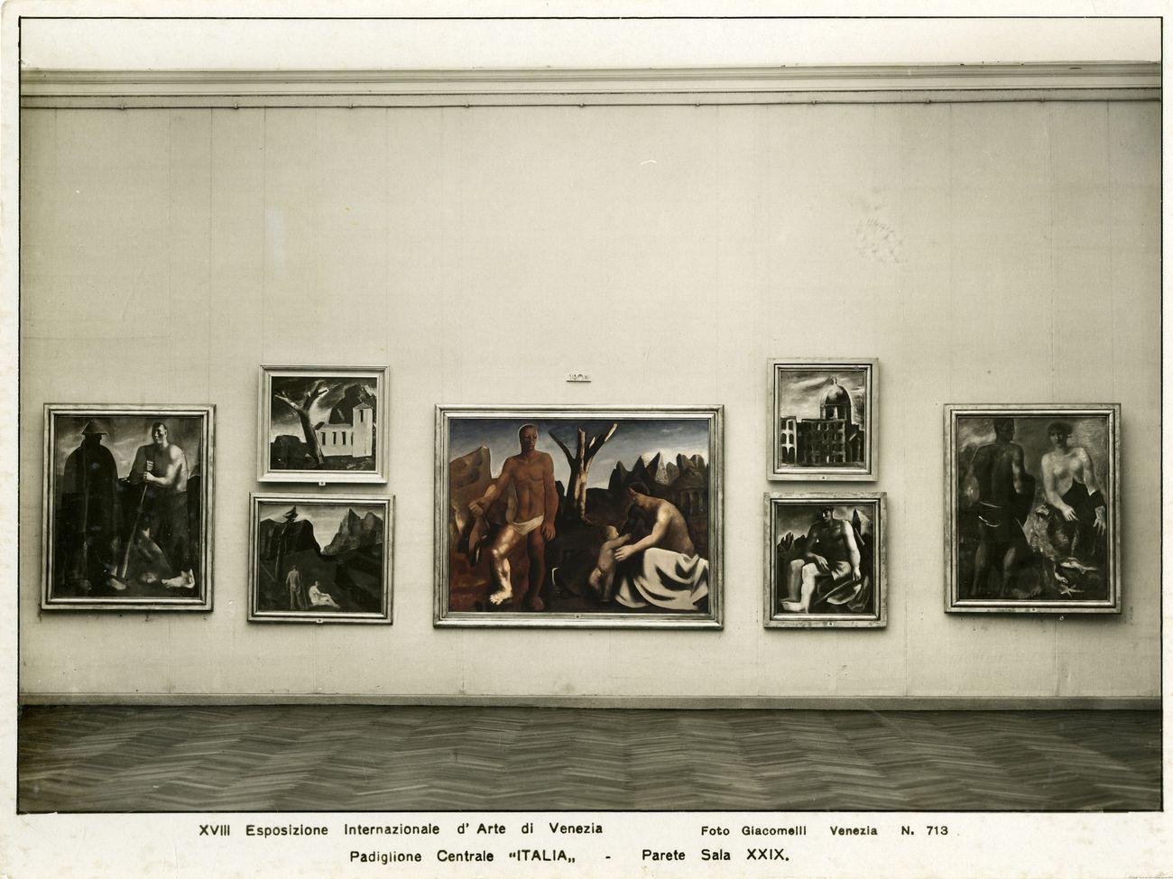 """Rendering fotografico per """"Post Zang Tumb Tuuum"""" (Fondazione Prada, Milano, 2018). XVIII Esposizione Internazionale d'Arte, Venezia 1932. © La Biennale di Venezia, ASAC, Fototeca. Photo Giacomelli"""