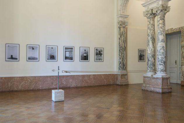 Roman Signer. Skulptur Fotografie. Installation view at Istituto Svizzero, Roma 2018. Courtesy l'artista & Istituto Svizzero, Roma. Photo © OKNO studio