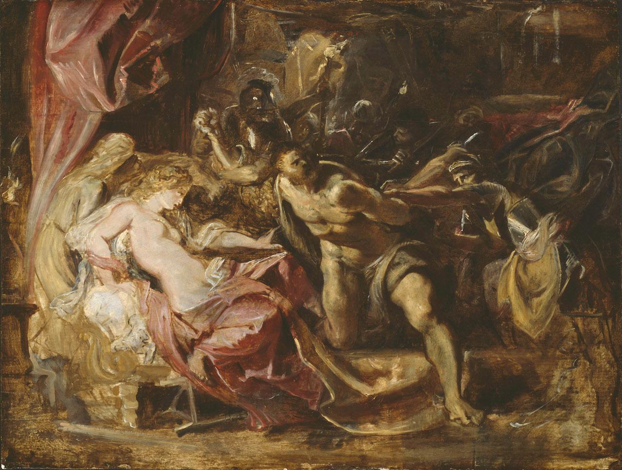 Rubens, La cattura di Sansone