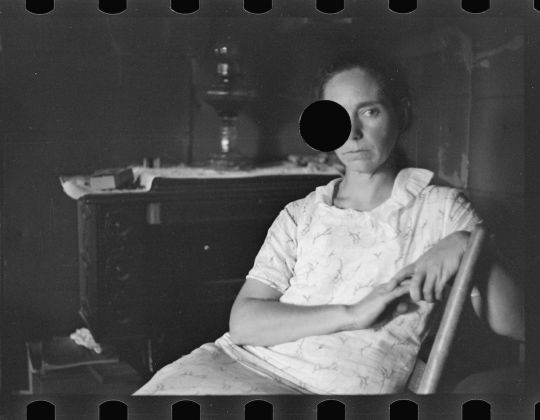 Ben Shahn Untitled photo, possibly related to: Family of rehabilitation client, Boone County, Arkansas October 1935 Digital print from scanned 35mm b&w negative Library of Congress, Prints & Photographs Division, FSA/OWI Collection, [reproduction number