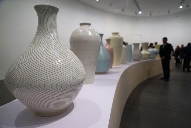 Shio Kusaka. Exhibition view at Gagosian Gallery, Roma 2018. Photo Maurizio Isidori