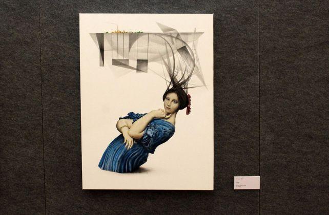Simone Berti, exhibition view at De prospectiva pingendi, Todi 2018, photo Mattia Galantini