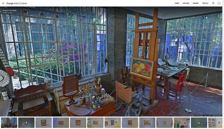 Street View - Casa Azul, Studio