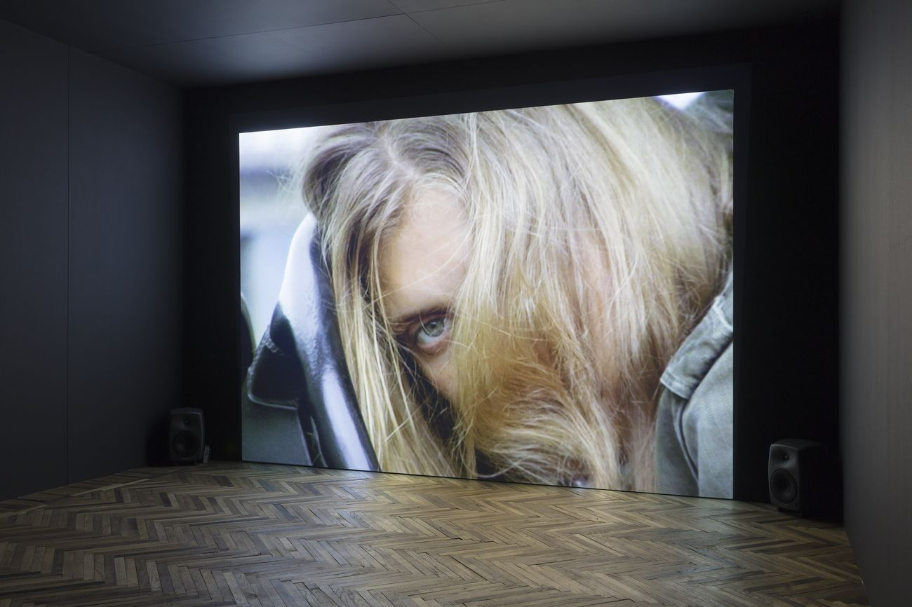Torbjørn Rødland. The Touch That Made You. Exhibition view at Fondazione Prada Osservatorio, Milano 2018. Courtesy Fondazione Prada. Photo Andrea Rossetti. I Am Linkola, 2007