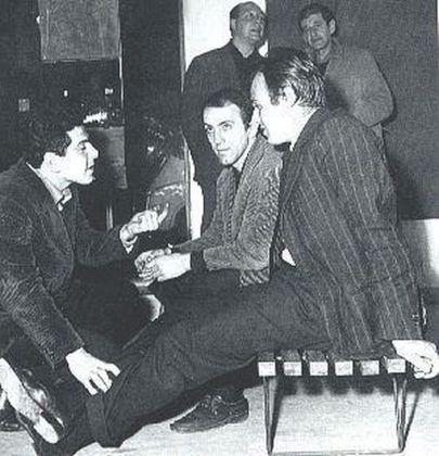 Tano Festa, Francesco Lo Savio e Mario Schifano alla galleria La Salita, 1960
