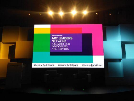 The New York Times Art Leaders Network a Berlino. Photo Daniele Perra