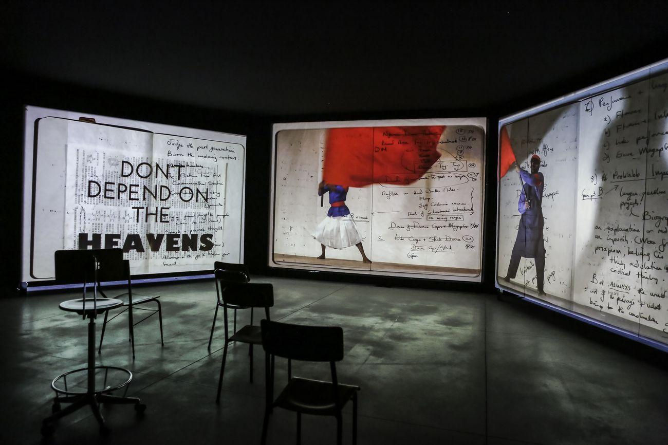 The Szechwan Tale. China, Theater and History. Exhibition view at FM Centro per l'arte contemporanea, Milano 2018