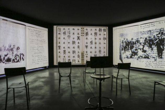 The Szechwan Tale. China, Theater and History. Exhibition view at FM Centro per l'arte contemporanea, Milano 2018