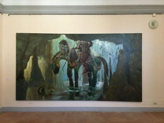 Thomas Braida, exhibition view at De prospectiva pingendi, Todi 2018, photo Valentina Grandini